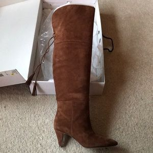 Nine West Josephine Over-the-knee boots -brown